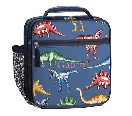 Mackenzie Blue Multi Dinos Lunch Box