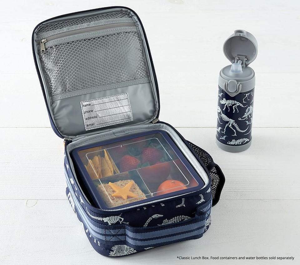 Mackenzie Blue Robo Dinosaurs Foil Lunch Boxes