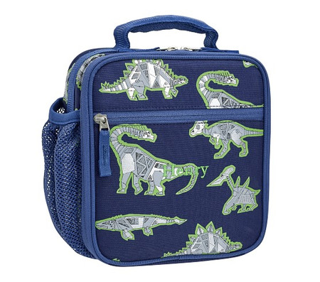 Mackenzie Blue Robo Dinosaurs Foil Lunch Boxes