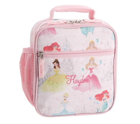 Mackenzie Disney Princess Castle Shimmer Lunch Box
