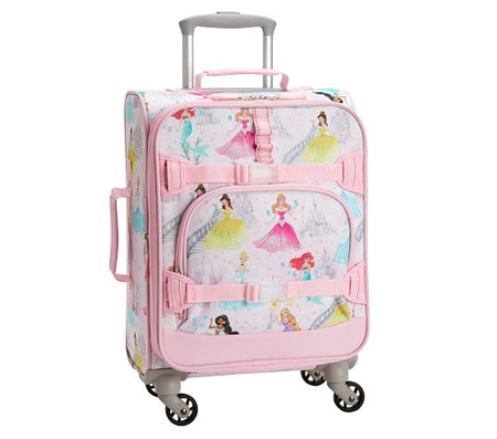 Mackenzie Disney Princess Castle Shimmer Spinner Luggage