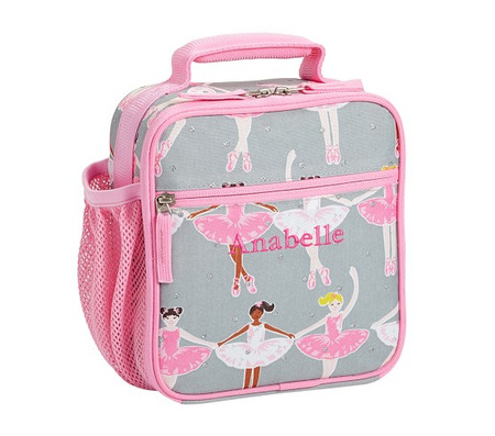 Mackenzie Glitter Ballerina Lunch Bag