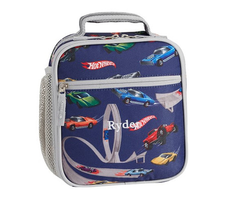 Mackenzie Grey Blue Hot Wheels® Lunch Bag