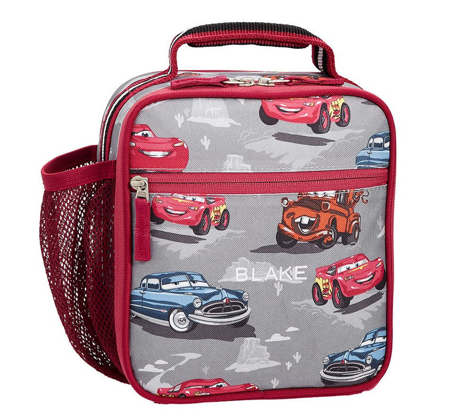 Mackenzie Grey Disney Pixar Cars Lunch Bag Pottery Barn