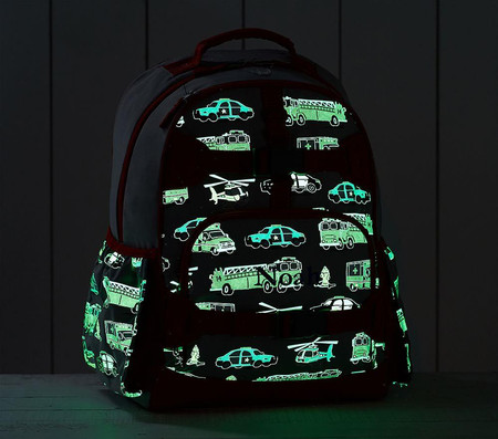 Mackenzie Grey Rescue Heroes Glow-in-the-Dark Backpacks