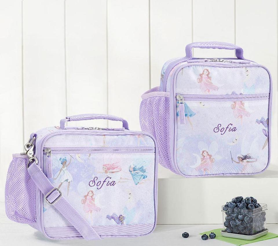 Mackenzie Lavender Magical Shimmer Fairies Lunch Boxes