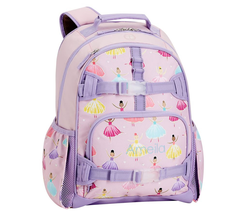 Mackenzie Pink Ballet Glow-in-the-Dark Backpacks