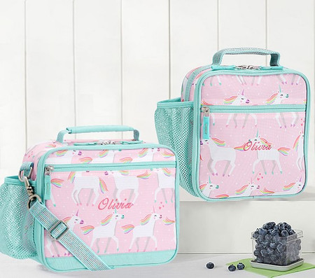 Mackenzie Pink Unicorn Parade Lunch Boxes