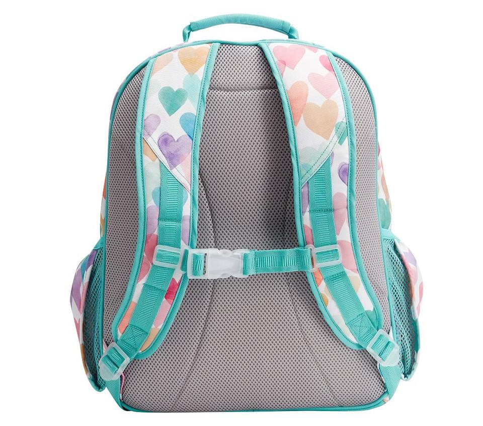 Mackenzie Rainbow Hearts Backpacks