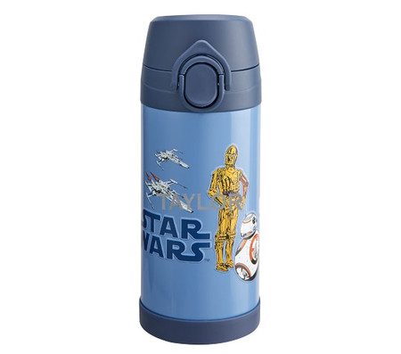 Mackenzie Star Wars™ Droids™ Glow-in-the-Dark Water Bottle