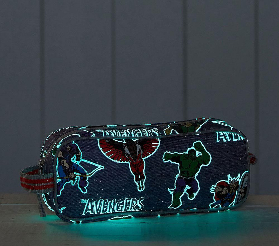 Marvel Glow In The Dark Avengers Pencil Case Pottery