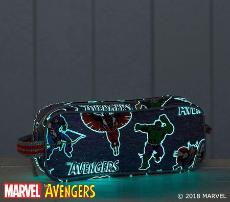 Marvel™ Glow-in-the-Dark Avengers Pencil Case