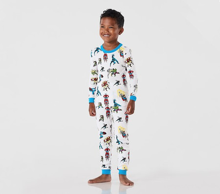 Glow-In-The-Dark Marvel Heroes Tight Fit Pyjamas