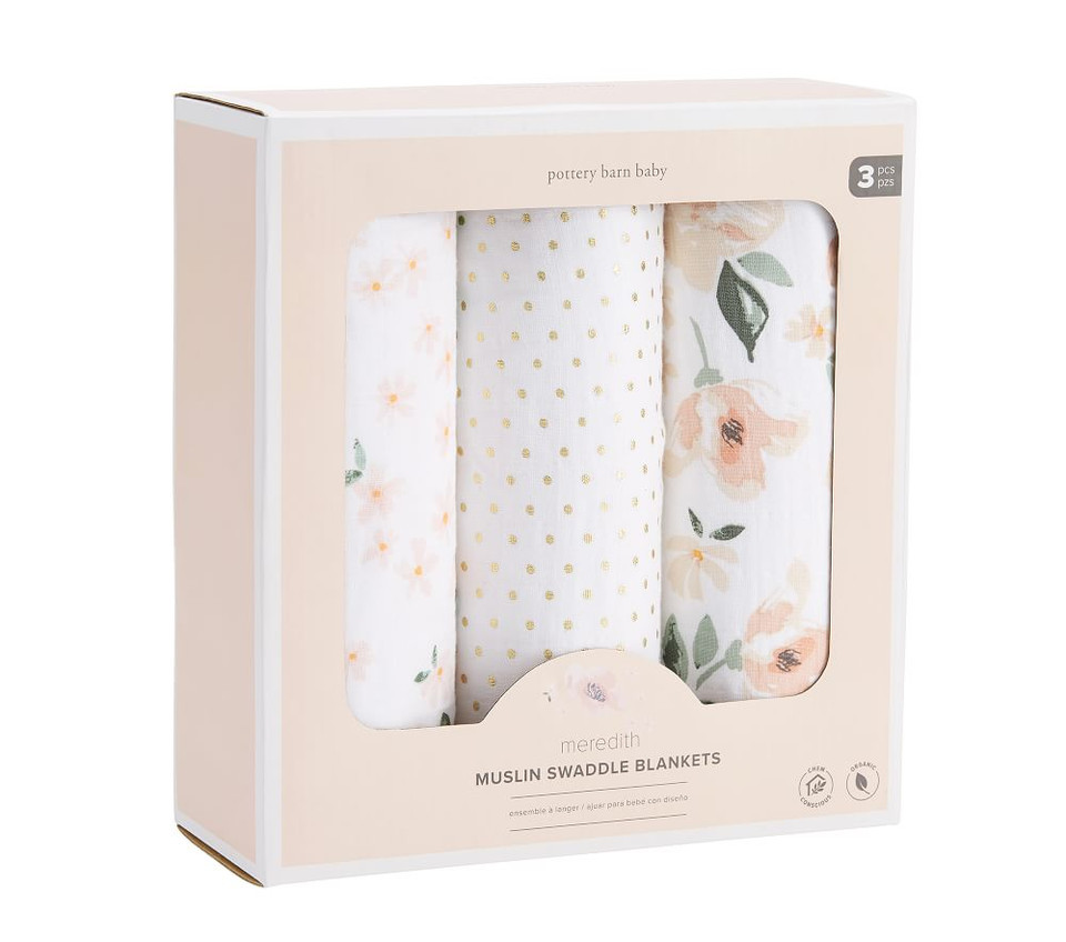 Organic Meredith Swaddle Set