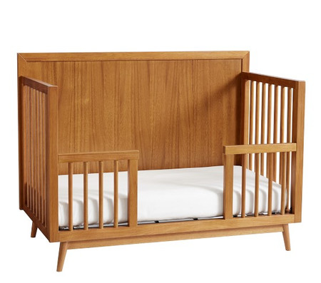 west elm x pbk Mid Century 4-in-1 Toddler Bed Conversion Kit