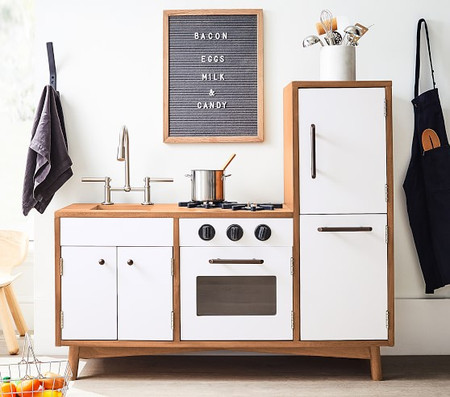 west elm x pbk My First Mid-Century Kitchen