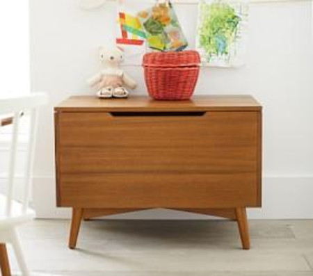 west elm x pbk Mid Century Toy Chest - Acorn