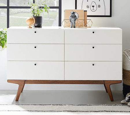 west elm x pbk Modern 6-Drawer Dresser