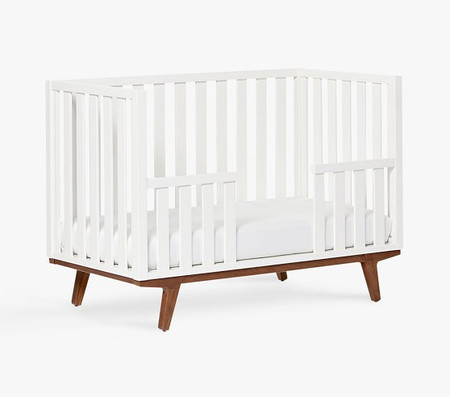 west elm x pbk Modern Toddler Bed Conversion Kit