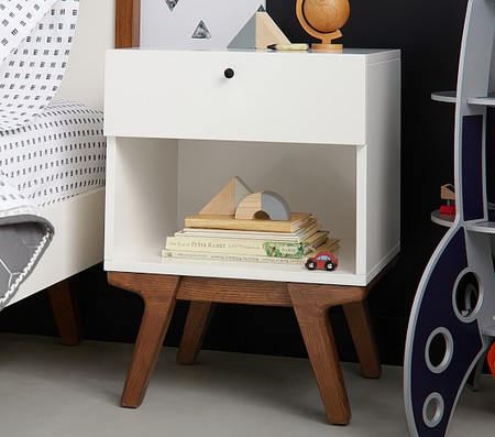 west elm x pbk Modern Bedside Table