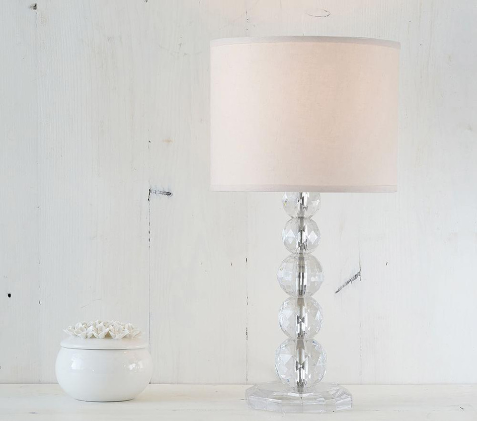 Monique Lhuillier Acrylic Complete Lamp