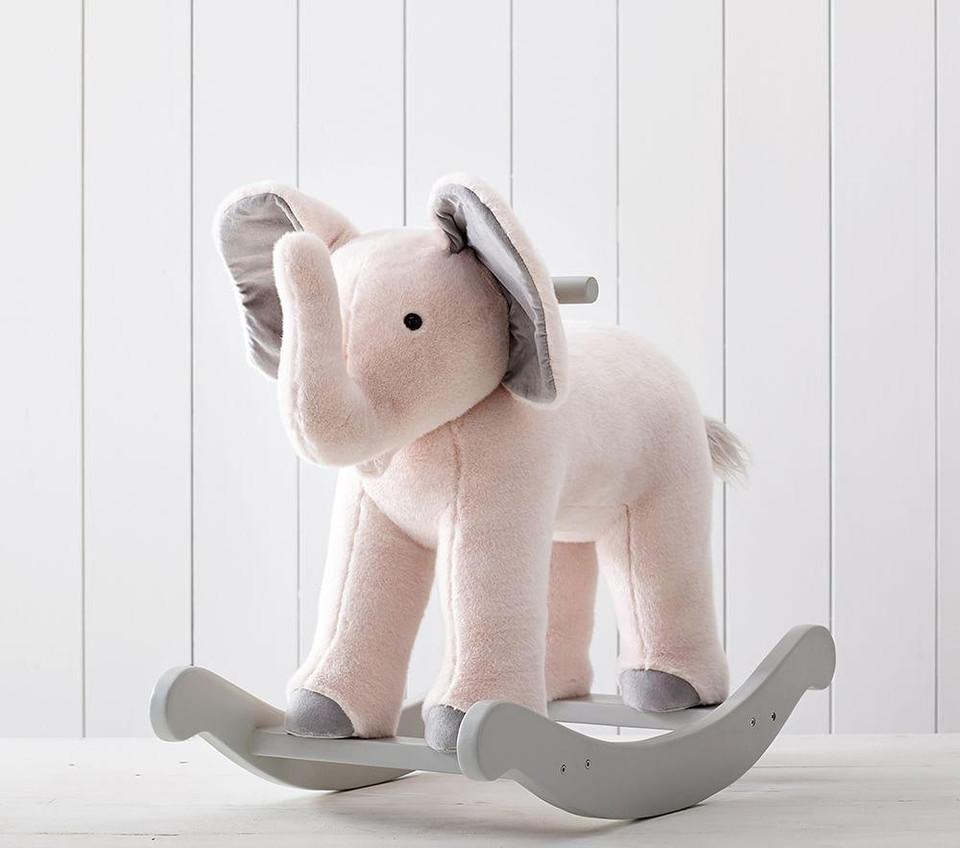 Monique Lhuillier Elephant Plush Rocker Pottery Barn Kids Au