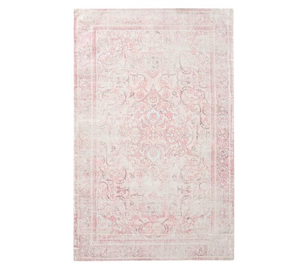 Monique Lhuillier Floral Antique Rug