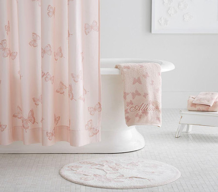 Monique Lhuillier Floral Bath Mat
