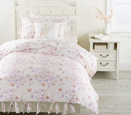 Monique Lhuillier Organic Fairy Floral Sateen Quilt Cover