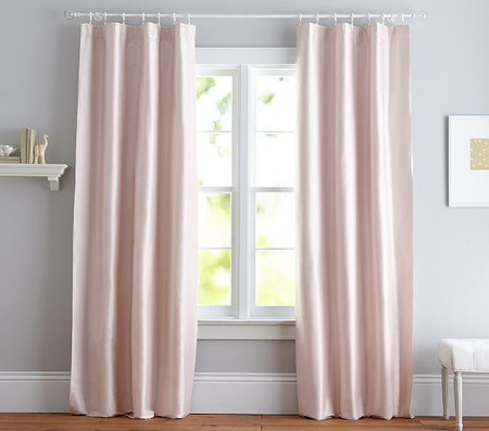 Monique Lhuillier Silk Curtain