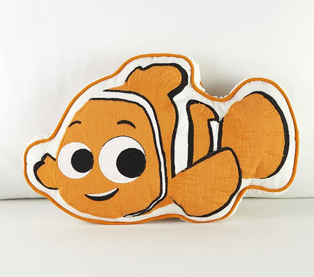 Disney and Pixar Finding Nemo Nemo Shaped Decorative Cushion