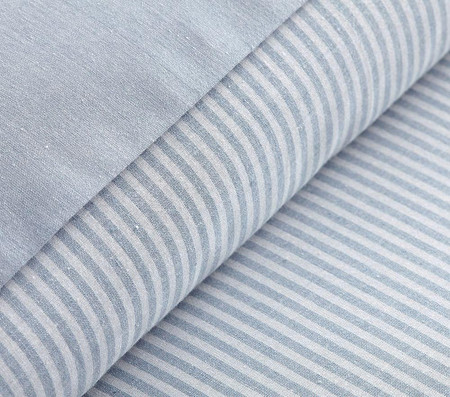 Organic Chambray Reversible Quilt Cover