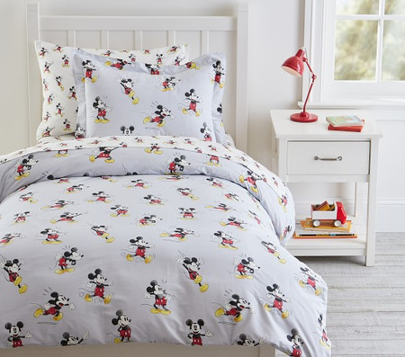 Organic Disney Mickey Mouse Quilt Cover