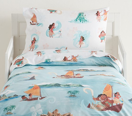 Disney Moana Organic Toddler Quilt Cover