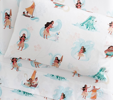 Disney Moana Organic Toddler Sheet Set