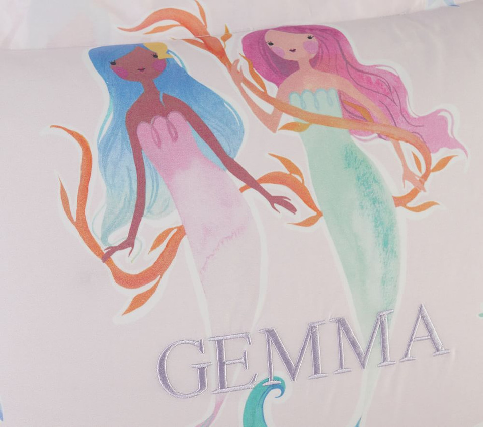 Organic Gemma Mermaid Quilt Cover