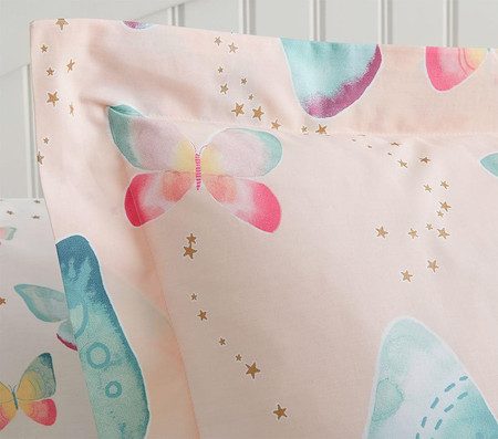 Organic Gigi Butterfly Quilt Cover
