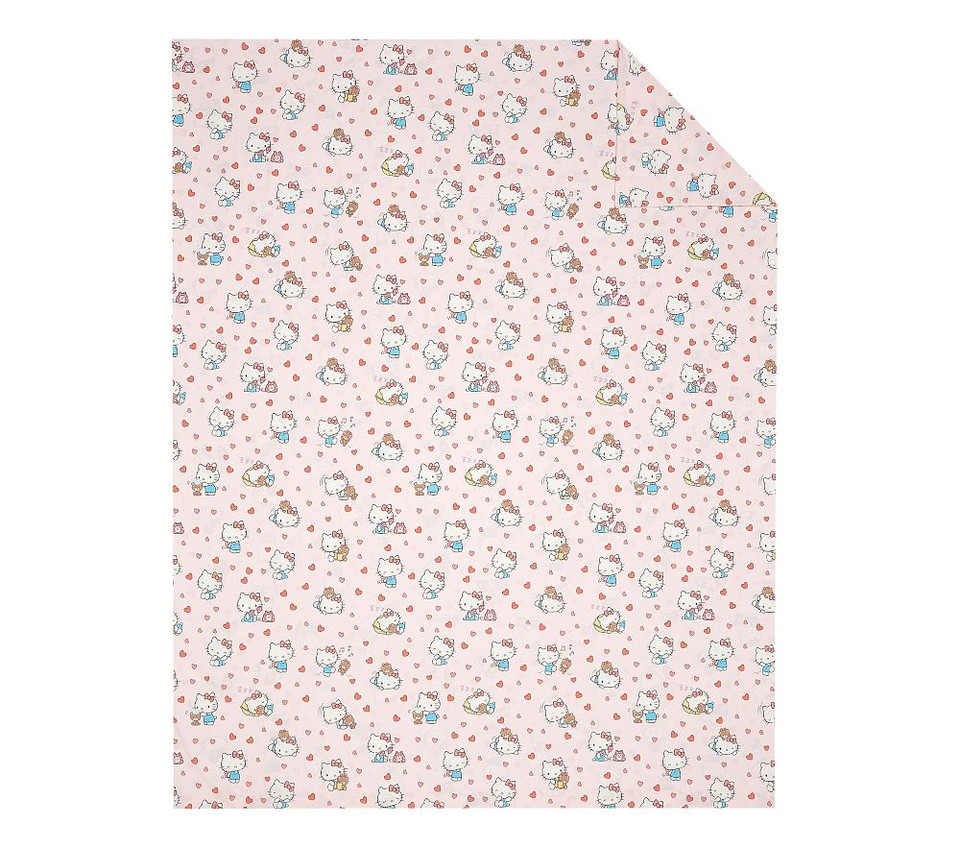 Organic Hello Kitty® Quilt Cover