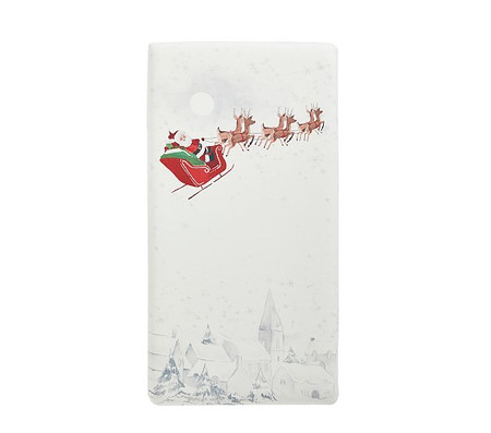 Organic Heritage Santa Picture Perfect Fitted Cot Sheet