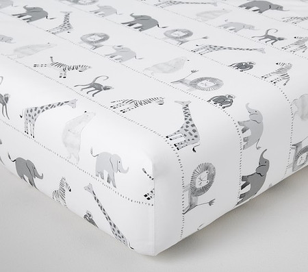 Organic Lawson Fitted Cot Sheet