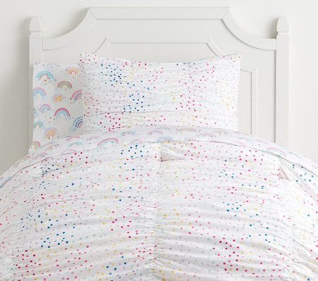 Organic Nadia Dot Quilt Cover