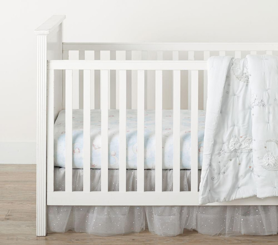 Organic Stella Cot Fitted Sheet
