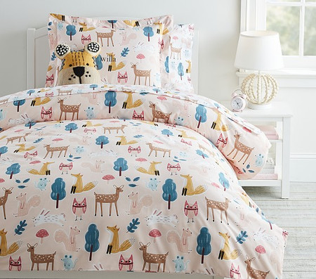 Organic Willa Woodland Quilt Cover