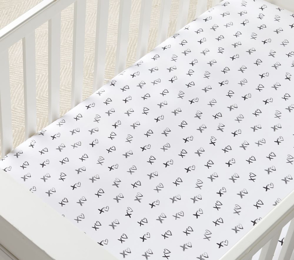 Organic Xo Fitted Cot Sheet