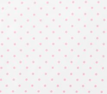 Organic Pin Dot Sheet Set, Pale Pink