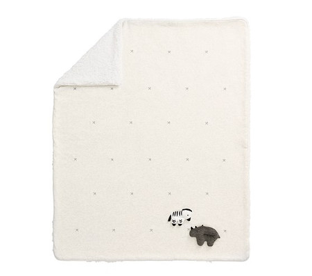 Playtime Sherpa Animal Baby Blanket