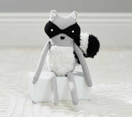 west elm x pbk Raccoon Plush
