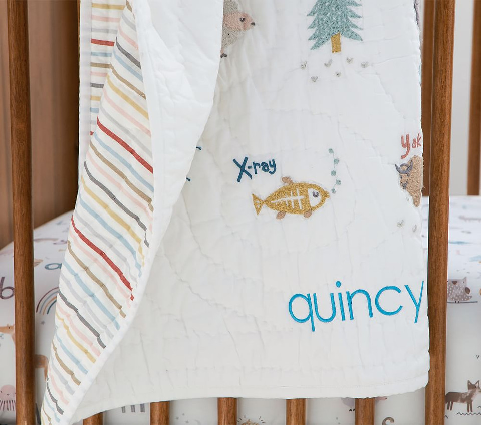 Quincy ABC Toddler Comforter