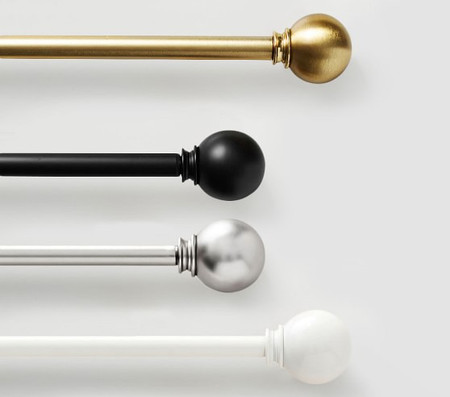 Round Finial & Window Hardware