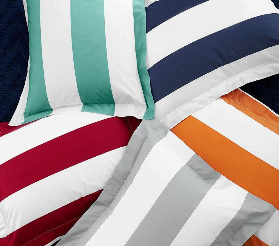 Rugby Stripe Quilt Cover